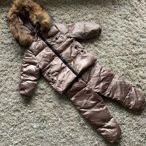 Moncler inspired snowsuit